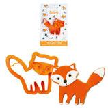 Decora - Fox / vos cutter 1 psc