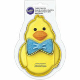 WILTON COOKIE CUTTER DUCK WITH BOW SET 2