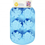 WILTON SILICONE BAKING MOULD FLORAL