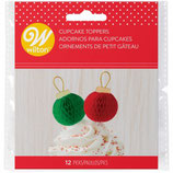 WILTON FUN PIX ORNAMENT PK/12