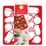 WILTON MULTI COOKIE CUTTER CHRISTMAS