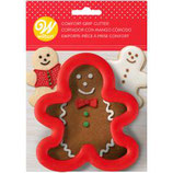 WILTON COMFORT GRIP CUTTER GINGERBREAD MAN