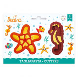 Decora -  Sea life cookie cutters 2 pcs