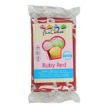 FunCakes Rolfondant  -Ruby Red- 250g
