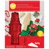 WILTON COOKIE STAMP KIT NUTCRACKER