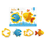 Decora -  Fishes cutters 2 pc