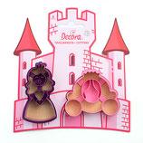 Decora - Princess cutters 2pcs