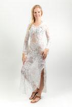 White Long Lace Dress