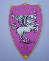 Schild Pinkes Pferd