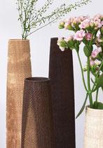 """Vasen mit Glaseinsatz: """"Rauhe Gesellschaft"""""""