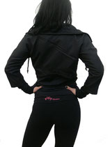 Veste noir Flirty Fitness