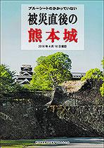 ブルーシートのかかっていない 被災直後の熊本城 2016年4月16日撮影