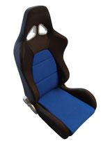 JACKY Auto-Sport, Sportsitz WRX mit Laufschienen,schwarz-blau