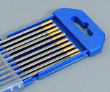 Electrodes tngstène WT 15 Ø 1,6 mm Art.no.151574051
