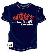 T-Shirt HB Evolution 2.0 + marine/rot/weiß