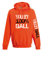 Volleyball Neonkapuze neonorange