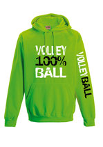 Volleyball Neonkapuze neongrün