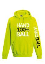 Handball Neonkapuze neongelb