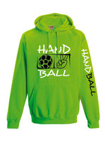 Handball Neonkapuze neongrün