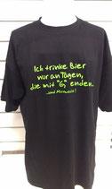 Fun-Shirt Nur an Tagen mit G limegreen