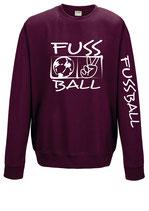FBW Sweater Victory 2 burgund/weiß