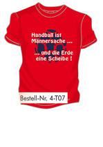 Handball Männersache 2 rot/weiß/marine
