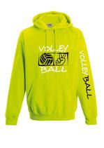 Volleyball Neonkapuze neongelb