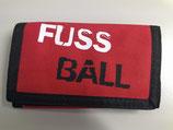 Geldbörse Fussball rot