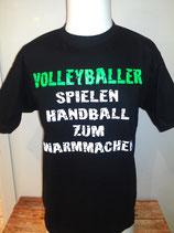 Volleyballer...warmmachen schwarz/weiß/neongrün