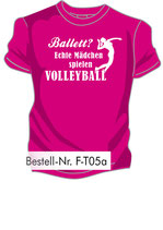 Volley Ballett pink/weiß