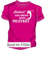 Volley Ballett pink/weiß