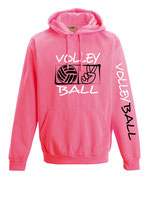 Volleyball Neonkapuze neonpink