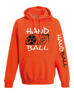 Handball Neonkapuze neonorange