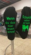 Mops-Socken Schnarchen