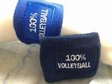 Schweißbänder Volleyball 100 % 2-er Pack