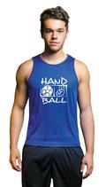 Handball Cool Top Unisex Druck weiß