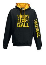 VBW K-Kapuze 100 % schwarz/gold