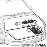 Masse-Matte für Marderabwehr-Geräte
