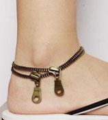 TREND Fusskettchen: Zipper-Style!