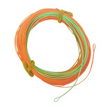 Runnningline connected core 0,85mm, 25 LB, 30 Meter, orange/mint