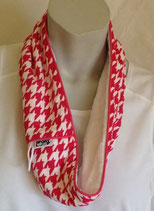 Breast Cancer Awareness - pink houndstooth