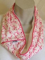 Breast Cancer Awareness - hearts & ribbons