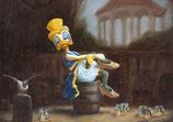 """Postkarte """"Die blaue Ente"""""""