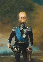 """Postkarte """"Großherzog Friedrich Franz II"""""""