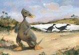 """Postkarte """"Anatotitan mannheim."""""""