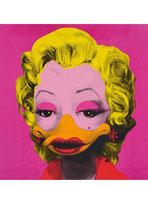 """Postkarte """"Marta Mortenson - pink"""""""