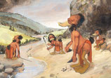 """Postkarte """"Anas neanderthalensis No.I"""""""