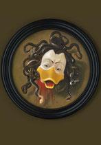 "Postkarte ""Haupt der Medusa"""