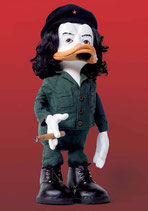 "Postkarte ""Che Duckevara Figurine"""