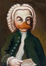 "Postkarte ""JS Bach"""
